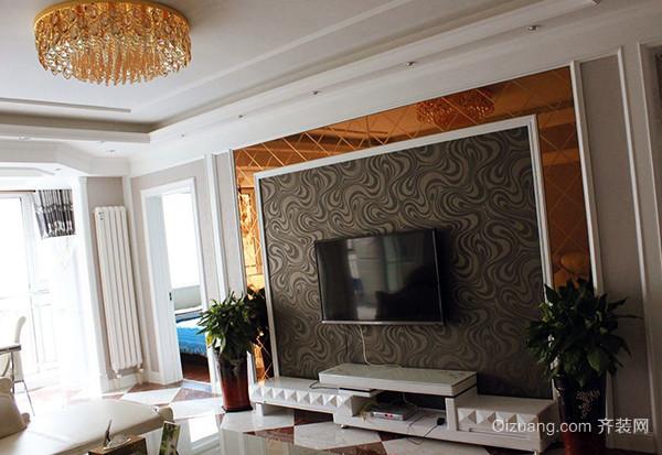 客厅电视背景墙该怎么设计