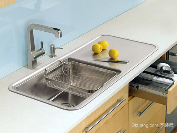安装集成水槽有什么好处