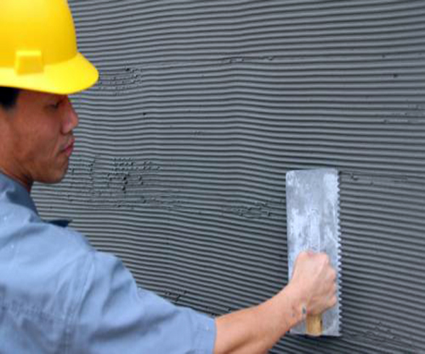 冬季瓷砖铺贴