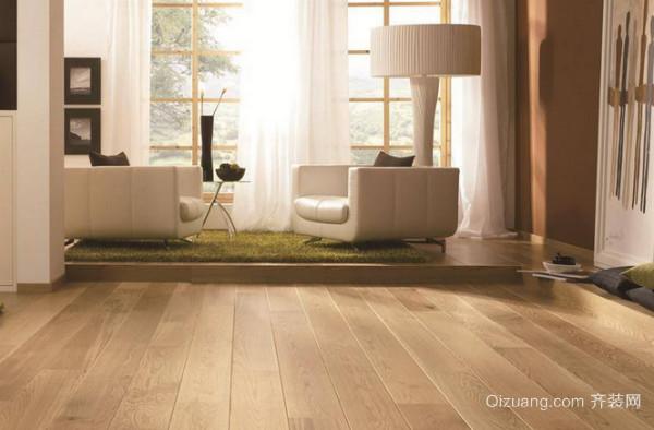 鉴定强化地板质量好坏的方法