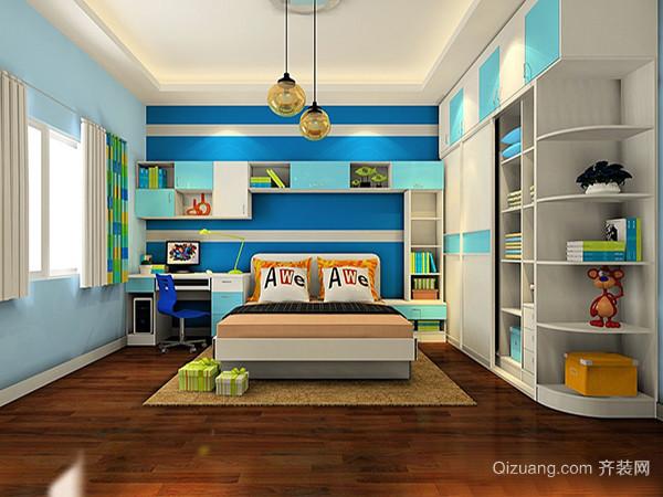 三、儿童卧室衣柜品牌小童舍    小童社简单大方的儿童衣柜所采用的是国际环保的油漆,它对孩子的是十分的安全健康的。这种油漆的抗酸性十分的强并且采用的都是十分环保的材质。具有的柔和的触感能有效的防止孩子们在使用的过程中受到伤害。小童舍儿童衣柜采用的都是十分纯净的颜色,结合这实用性的设计是儿童衣柜中的一个不错的选择之一。