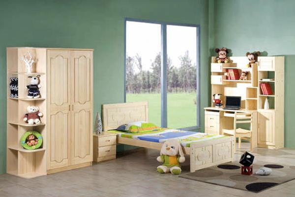 儿童整体衣柜选购小诀窍 让儿童房更童趣
