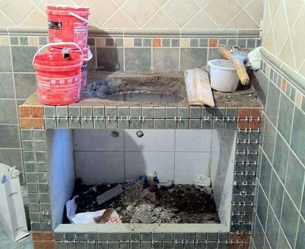 砖砌浴室柜优缺点分析 选材普及