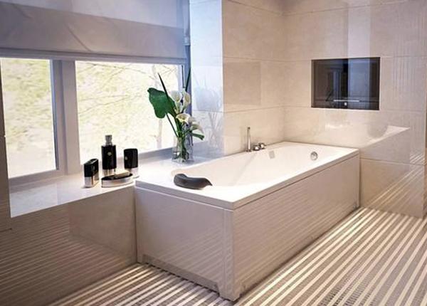 嵌入式浴缸安装三步走 就是那么简单