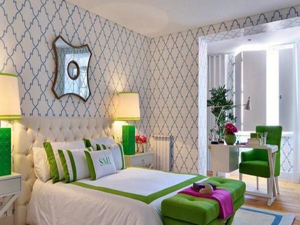 玉兰壁纸简析 打造家居不一样的美