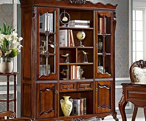 选择欧式定制书柜好不好 特色优势更显格调