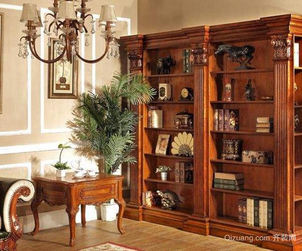 选材导购 家具 书架 > 选择欧式定制书柜好不好 特色优势更显格调