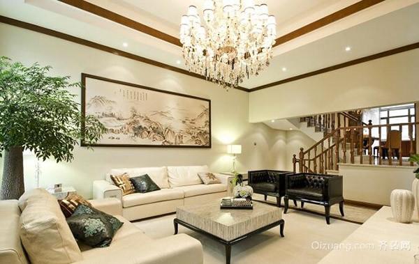如何給復式樓客廳裝修 這些技巧能幫到你
