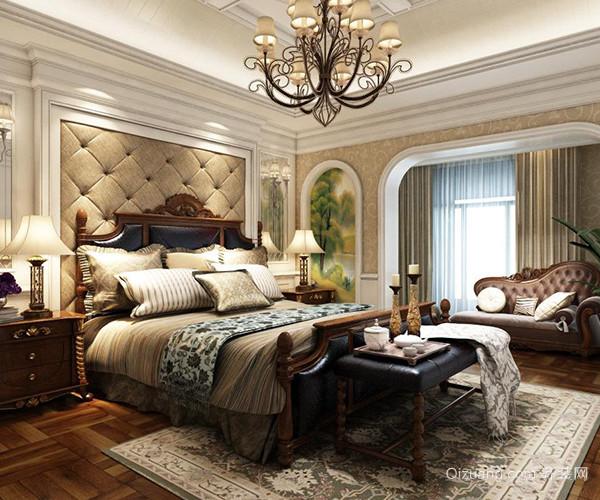 欧式卧室中式有哪些风格特点