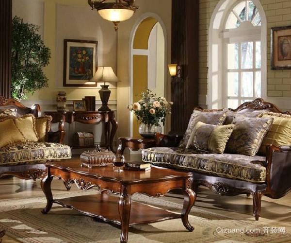 所以常用到布艺沙发,手工的纺织物,碎花布等,布艺的天然感与乡村风格