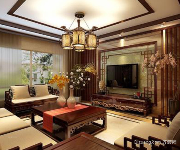 中式风格装饰点缀