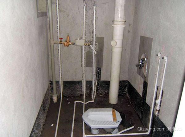 改造卫生间水管