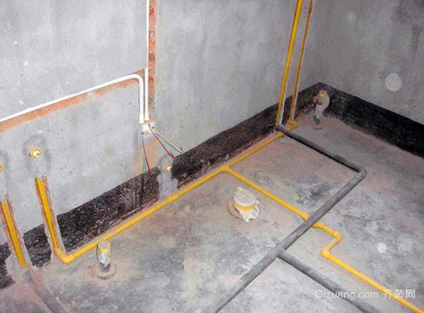 卫生间水管改造方法