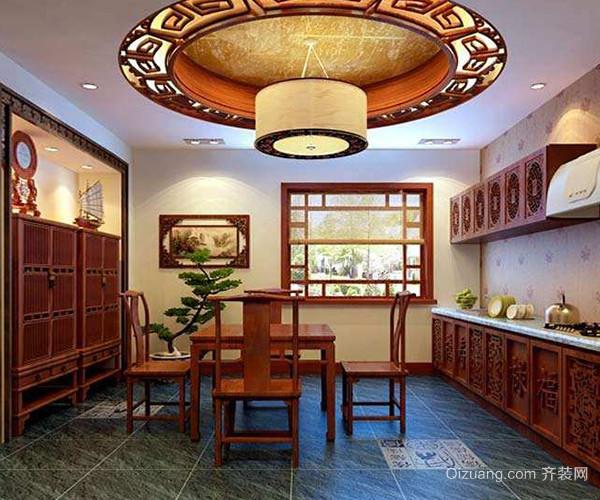 中式厨房如何打造