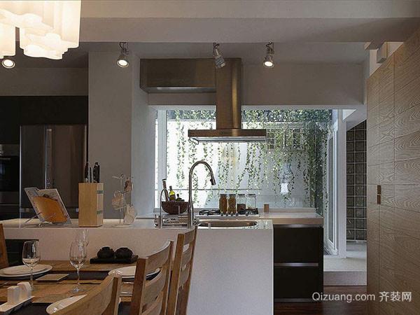 二,开放式厨房设计要点——做好中岛