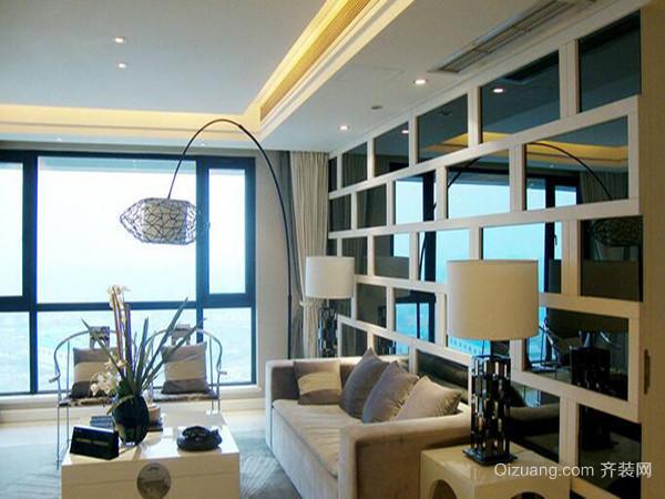 一,客厅装修风水——大门正对客厅窗户