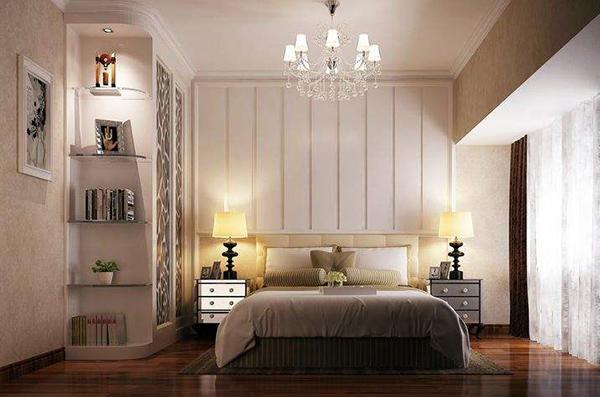 卧室灯具布置