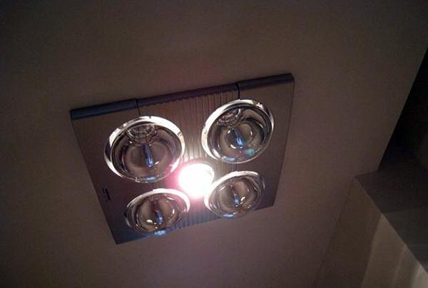 奥普浴霸安装灯泡注意事项