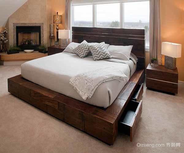 卧室的床怎么摆放好