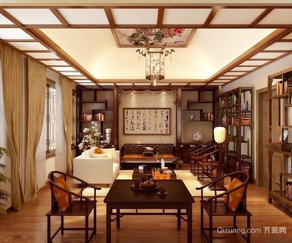 中式茶楼装修风格