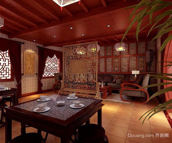 如何装修中式茶楼