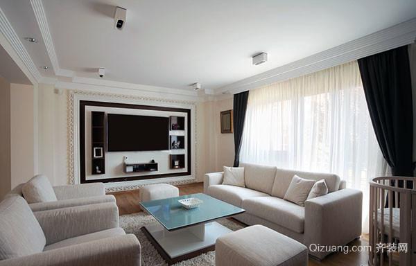 客厅电视墙装修选择小窍门
