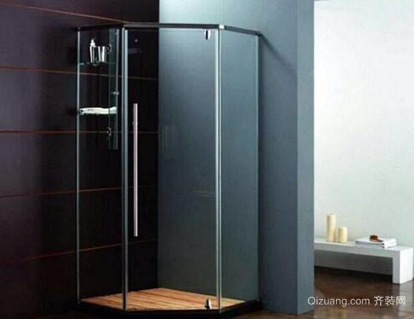 清洁浴室玻璃门水渍小妙招
