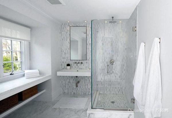 清洁浴室玻璃门水渍妙招