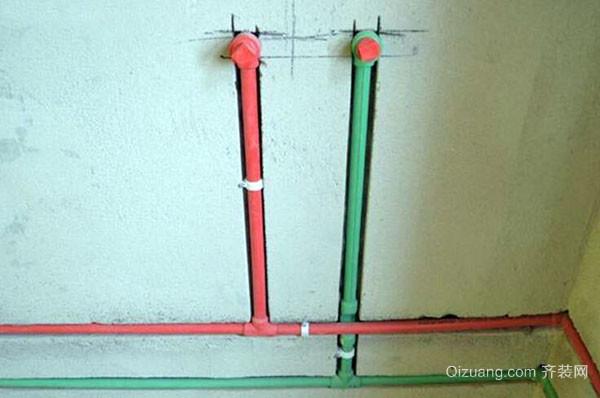 墙体内水管