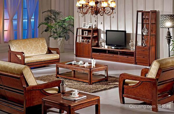 按风格分常见的木质沙发有美式风格,欧式风格,中式风格,地中海风格等