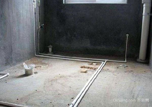 卫生间防水装修注意要点