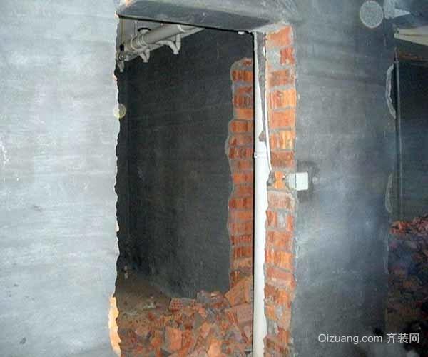 承重墙可以敲掉开门吗