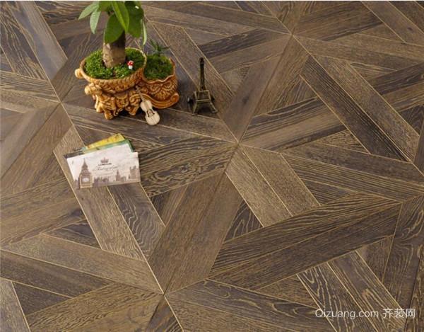 船木地板是一种现在比较少见的实木地板,它的风格样式独特,工艺效果好