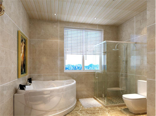卫生间墙砖铺贴效果图