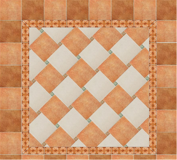 拼花地砖装修效果图