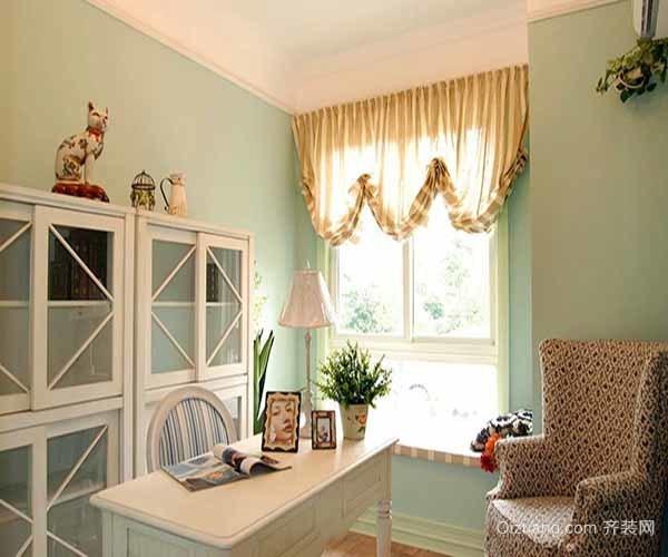 书房的窗帘如何选择风水