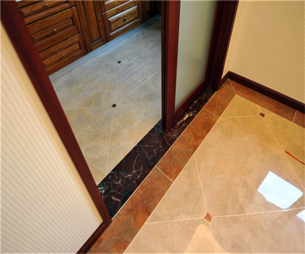 地面瓷砖铺贴方法