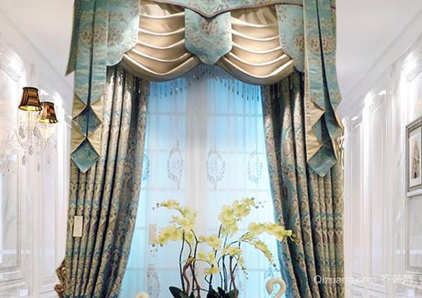 欧式豪华窗帘的花边,用量一般和幔头,垂边的长度相当,需要的长度根据