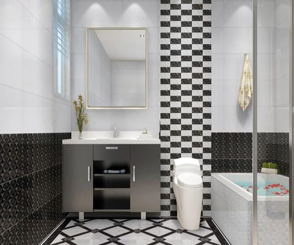 黑白瓷砖搭配方案 经典又永恒