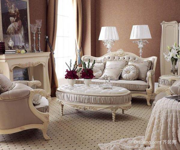 客厅装修点缀欧式风格