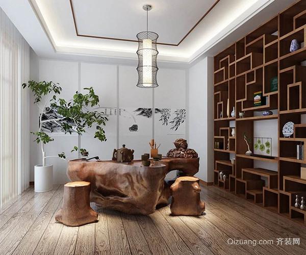 如何装修中式书房