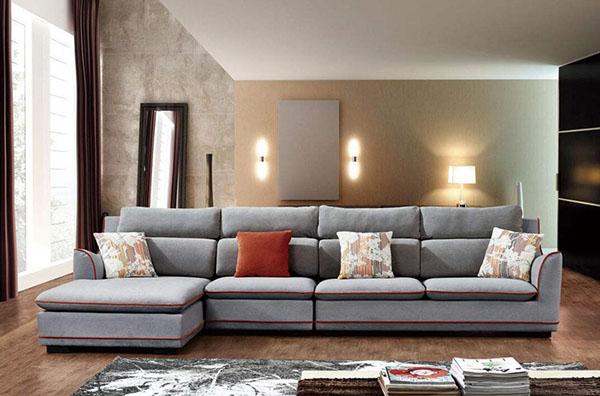 客厅布艺沙发选购技巧 打造舒适惬意环境