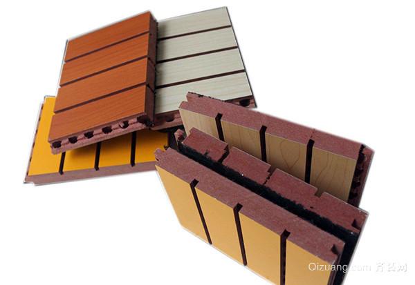 槽木吸音板的优点