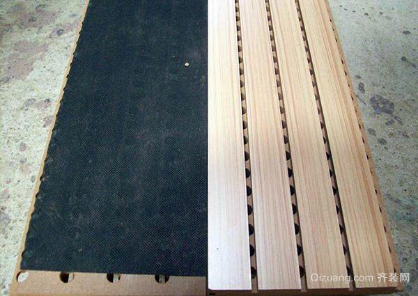 槽木吸音板优点