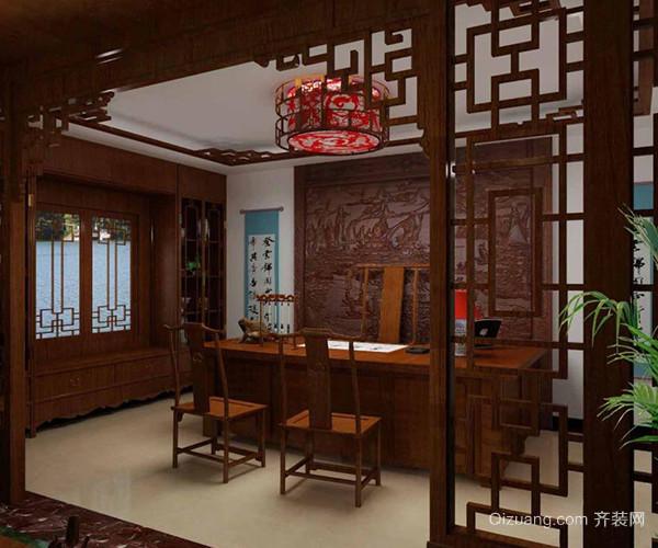 中式书房装饰特点