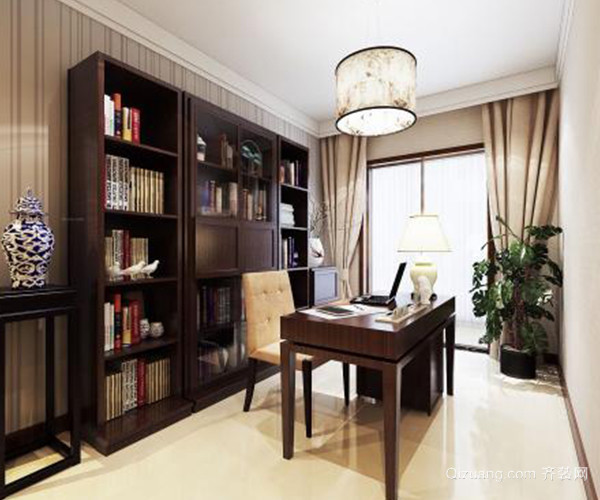 家居如何布置中式书房