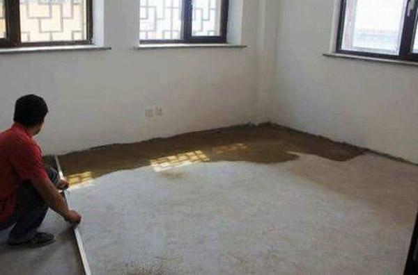 验收地面装修的方法