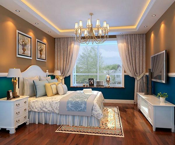 装修美式卧室技巧