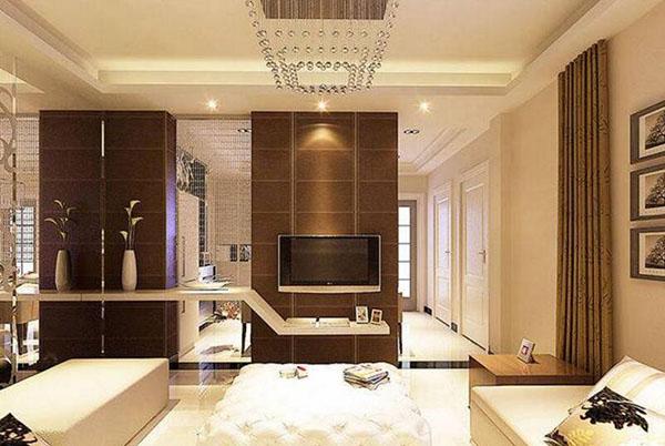 客厅照明灯光设计