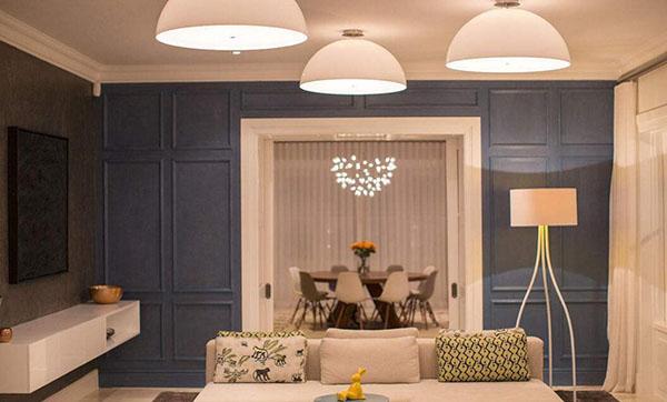 客厅灯光照明设计